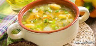 Sebzeli Diyet Çorbası Tarifi