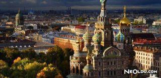 St. Petersburg'da Gezilip Görülmesi Gereken Yerler