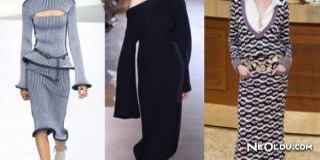 Triko Elbise Modası