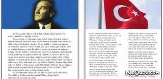 İstiklal Marşı ve Gençliğe Hitabe'de Yer Alan Kelimeler
