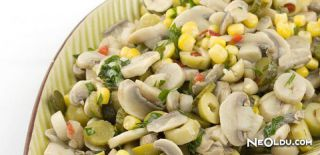 Mantar Salatası Tarifi