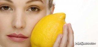 Cilt Lekelerine Limon Suyu Kürü