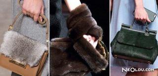 Kürk Çanta Trendi