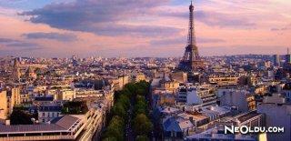 Paris'te Gezilip Görülmesi Gereken Yerler