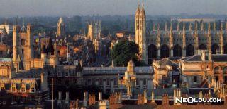Cambridge'de Gezilip Görülmesi Gereken Yerler