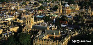 Oxford'da Gezilip Görülmesi Gereken Yerler
