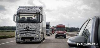 Mercedes Benz'in Sürücüsüz Kamyonu Yollarda