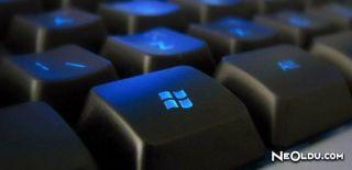 Windows Klavyenin Tüm Kısayol Tuşları