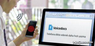 Sesi Yazıya Dönüştüren Program: Voicedocs