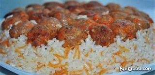 Köfteli Pirinç Pilavı Tarifi