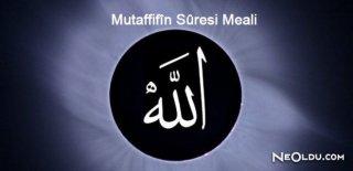 Rüyada Mutaffifin Suresi Görmek Ne Anlama Gelir?