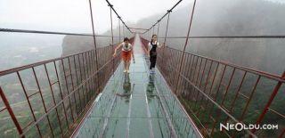 Çin'deki Muhteşem Cam Köprü