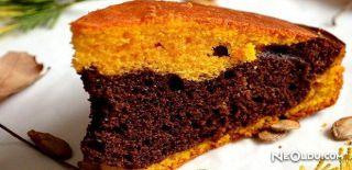 Balkabaklı Kakaolu Kek Tarifi
