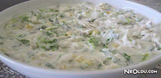 Yoğurtlu Mayonezli Tavuk Salatası Tarifi