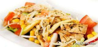 Mısırlı Tavuk Salatası Tarifi