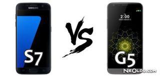 Samsung S7 - LG G5 Karşılaştırma