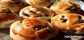 Zeytinli Minik Ekmekler Tarifi
