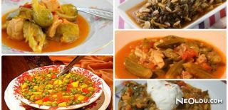 En Güzel 5 Sebze Yemeği ve Tarifi