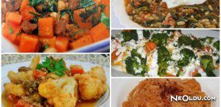 Çok Sağlıklı 5 Sebze Yemeği Tarifi