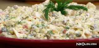 Tavuklu Kuskus Salatası Tarifi