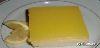 Limonata Soslu İrmik Tatlısı Tarifi