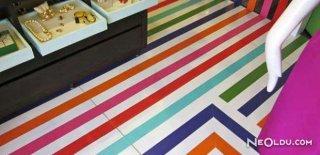 Renkli Zemin Dekorasyonları