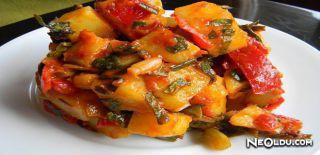 Sıcak Patates Salatası Tarifi