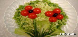 Bahar Yeşili Salatası Tarifi