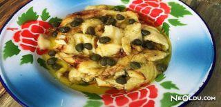 Kaparili Patlıcan Salatası Tarifi