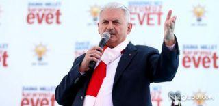 Başbakan Yıldırım Kars'ta Halka Hitap Etti