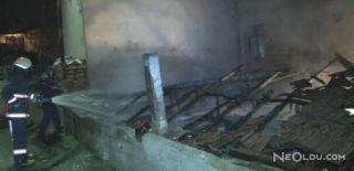 Gecekondu'da Yangın Faciası! 1 Ölü, 1 Yaralı
