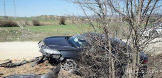 AKP'li Başkan Trafik Kazası Geçirdi
