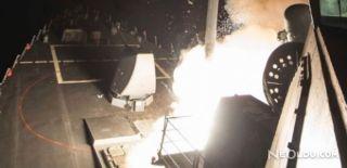 ABD'nin Vurduğu Suriye Üssünden Görüntüler