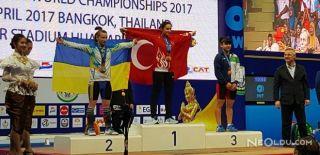 Nuray Levent Halterde Dünya Şampiyonu