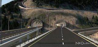Zigana Tüneli ile 6 Saat 40 Dakikaya İniyor