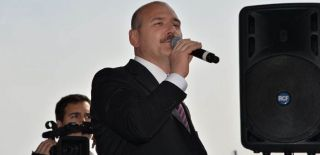 Soylu Trabzon'da Halka Seslendi