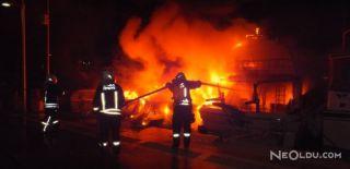 Lüks Motor Yatta Yangın: 1 Ölü 1 Yaralı