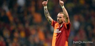 Galatasaray'da Sneijder Görüşmeleri