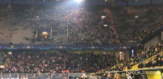 Almanya'da Maç Öncesi Patlama!