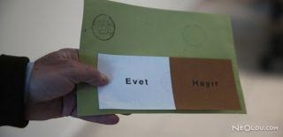 Referandumda Oy Verme İşlemi Başladı