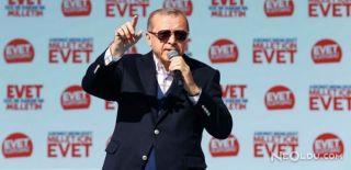 Erdoğan Erzurum'da Halka Hitap Etti