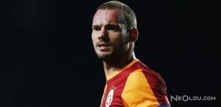 Sneijder'den Cevap: Galatasaray'da Mutluyum