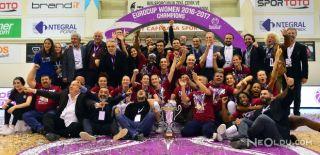 YDÜ Kadın Basketbol Takımı Avrupa Şampiyonu!