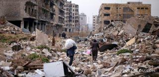 Halep'te Patlama: Ölü ve Yaralılar Var
