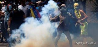 Venezuela'daki Gösterilerde Kriz Büyüyor