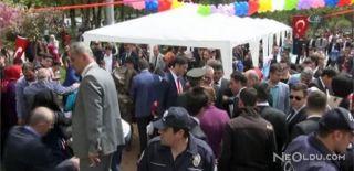 23 Nisan Kutlamasında Gazlı Balon Patladı