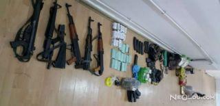 Mardin'de PKK Silah ve Mühimmat Ele Geçirildi