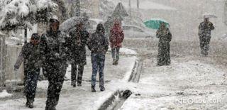 Meteorolojiden Kar Uyarısı Yapıldı