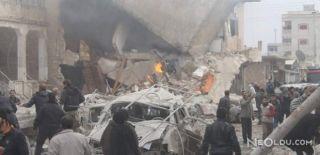 Suriye'deki Saldırıda Çok Sayıda Ölü Var