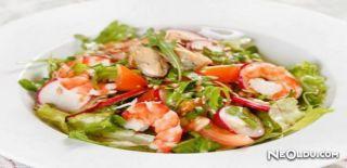 Karidesli Roka Salatası Tarifi